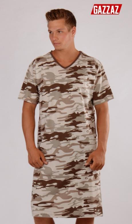 f4cde99bb Pánska nočná košeľa s krátkym rukávom Vienetta Secret Army ...