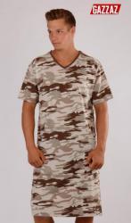 Pánska nočná košeľa s krátkym rukávom Vienetta Secret Army