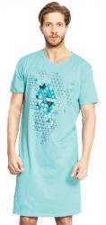 Pánska nočná košeľa s krátkym rukávom Vienetta Secret Šimon