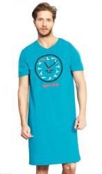 Pánska nočná košeľa Vienetta Secret Kamasutra clock