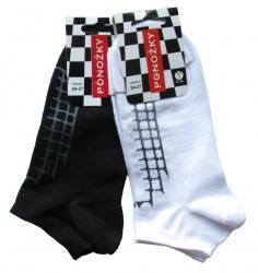 Pánske a dámske členkové ponožky Novia 401N