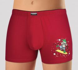 Pánske boxerky Andrie 5175 Vianoce