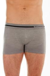 Pánske boxerky Brubeck Wool BX 10430 šedé