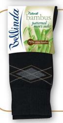 Pánske ponožky Bellinda 497545 BAMBUS VZOROVANÉ