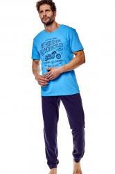 Pánske pyžamo 36204 Force blue