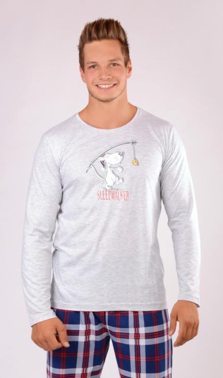 261bd43c26f8 Otázky k produktu Pánske pyžamo dlhé Sleepwalker - Vienetta Secret ...