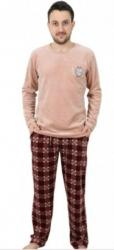 Pánske pyžamo dlhé velúrové Vienetta Secret Marek