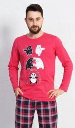 Pánske pyžamo dlhé Vienetta Secret Panda