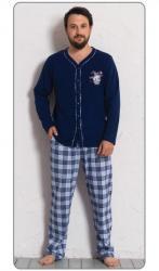 Pánske pyžamo dlhé Vienetta Secret Richard