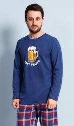 Pánske pyžamo dlhé Vienetta Secret Veľké pivo