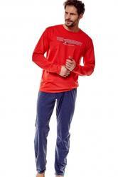 Pánske pyžamo Esotiq 36203 Focus red