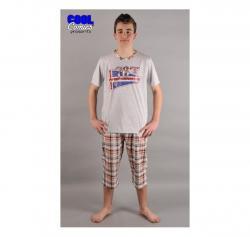 Pánske pyžamo kapri Vienetta Secret Mariňák výpredaj