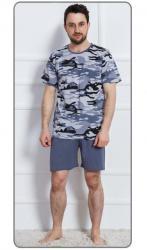 Pánske pyžamo šortky Vienetta Secret Army nadmer