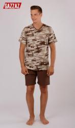 Pánske pyžamo šortky Vienetta Secret Army