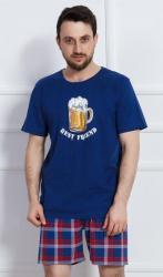 Pánske pyžamo šortky Vienetta Secret Veľké pivo nadmer