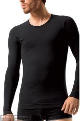 Pánske tričko Brubeck LS 01120 Long sleeve black