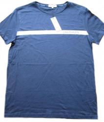 Pánske tričko Calvin Klein KM0KM00329 modré