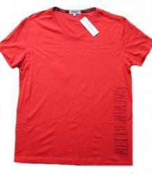 Pánske tričko Calvin Klein KM0KM00333 červené