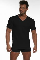 Pánske tričko Cornette Authentic 201 čierne