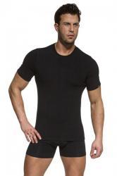 Pánske tričko Cornette Authentic 201 new čierne