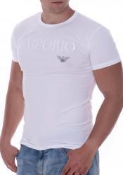 Pánske tričko Emporio Armani 111035 CC716 bílá