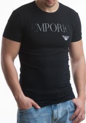 Pánske tričko Emporio Armani 111035 CC716 čierna