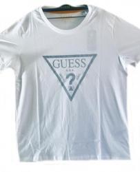 Pánske tričko GUESS F92I00 biela