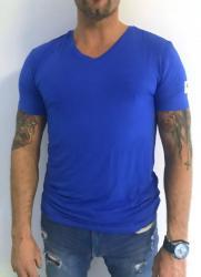 Pánske tričko Guess U02M01 modrá