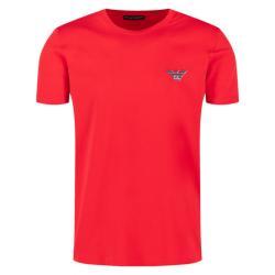 Pánske triko Emporio Armani 110853 0P525 červená