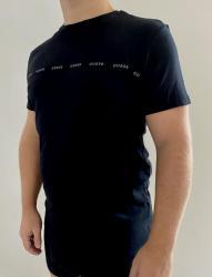 Pánské triko Guess U0BM04 černá