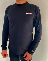 Pánské triko Guess UBA52 černé
