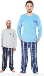 Pánske velúrové pyžamo dlhé Vienetta Secret Albert