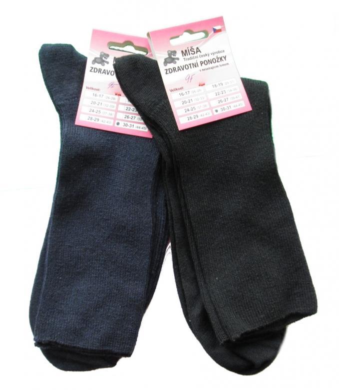 Pánske zdravotné ponožky Novia Míša - Novia (Ponožky pánske ... 2f0c9c274e