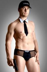 Pánsky erotický kostým Softline collection Policeman set