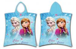Pončo Frozen glitter