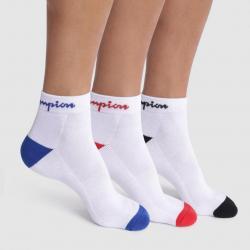 Ponožky UNISEX Champion 82D 3PACK bílá