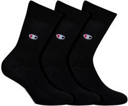 Ponožky UNISEX Champion 8ST 3PACK čierna