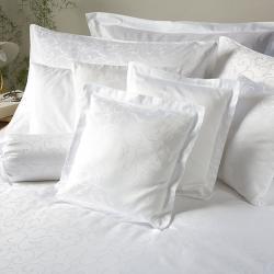 Posteľná bielizeň damask-Ornella FNR biela-240x200, 2x70x90