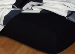 Prestieradlá froté - čierna - 160-180x200