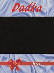 Prestieradlá jersey - čierna - 90x200