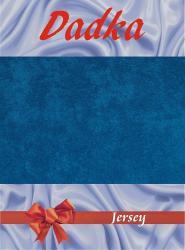 Prestieradlá jersey - kráľovská modrá - 60x120