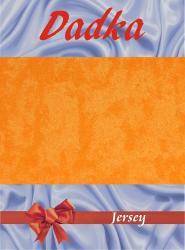 Prestieradlá jersey - pomarančová - 200x220