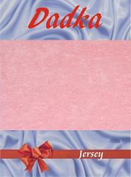 Prestieradlá jersey - ružová - 90x220