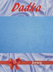 Prestieradlá jersey - svetlá modrá - 200x220