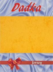 Prestieradlá jersey - tmavo žltá - 200x220