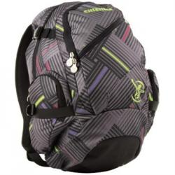 Ruksak Chiemsee Techpack stripe check black 102663