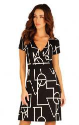 Šaty dámske s krátkým rukávem Litex 60052