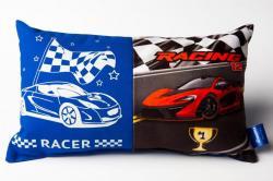 Svietiace vankúšik M-Sector Racer modrý